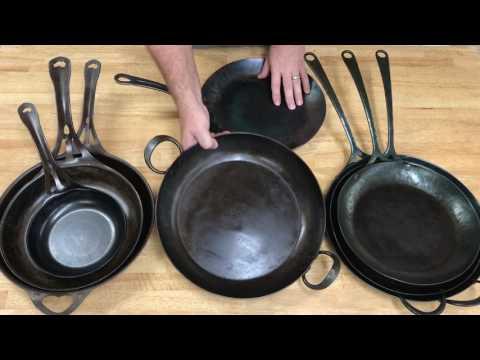 Modern Carbon Steel Pan Comparison