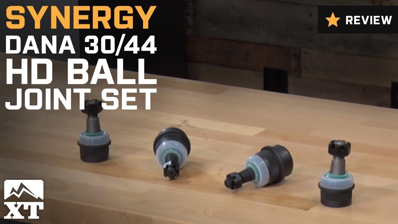 Jeep Wrangler Synergy Dana 30/44 HD Ball Joint Set (2007-2017 JK) Review