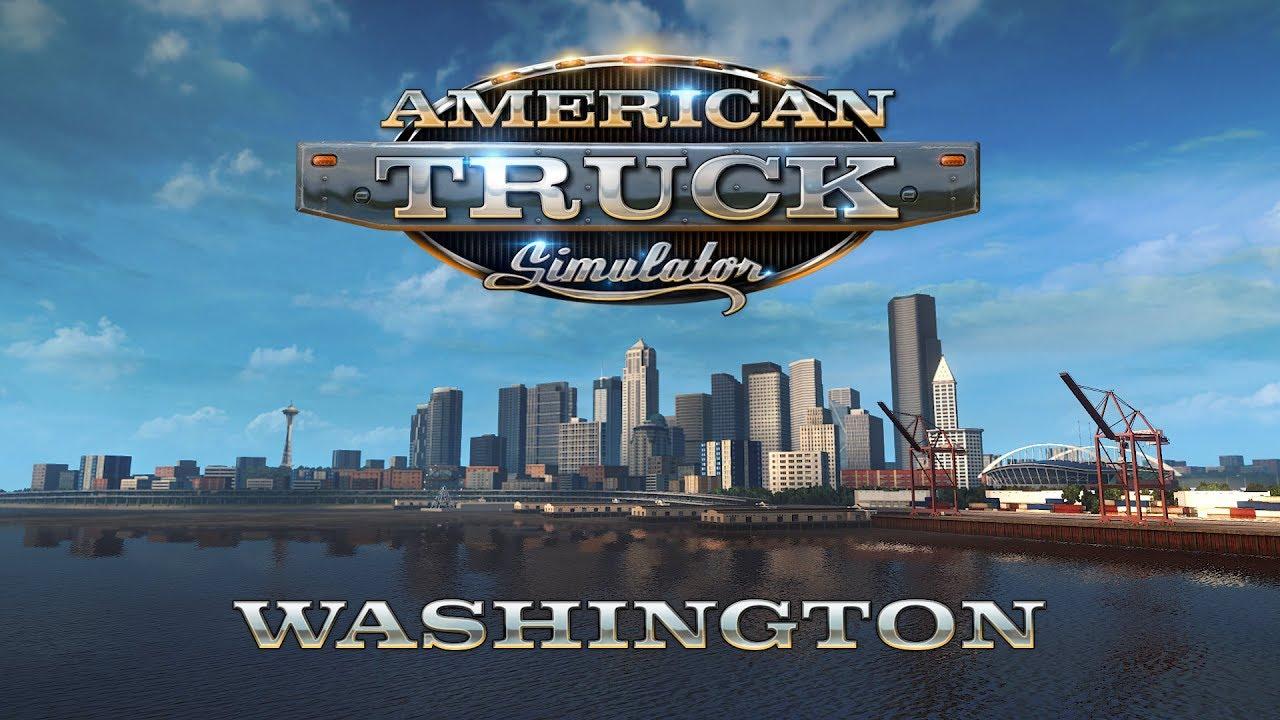 American Truck Simulator Washington Download Free PC Game Full Version