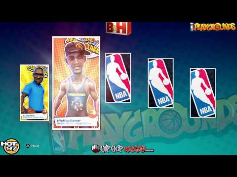 NBA PLAYGROUNDS HipHopGamer Character Release Highlights