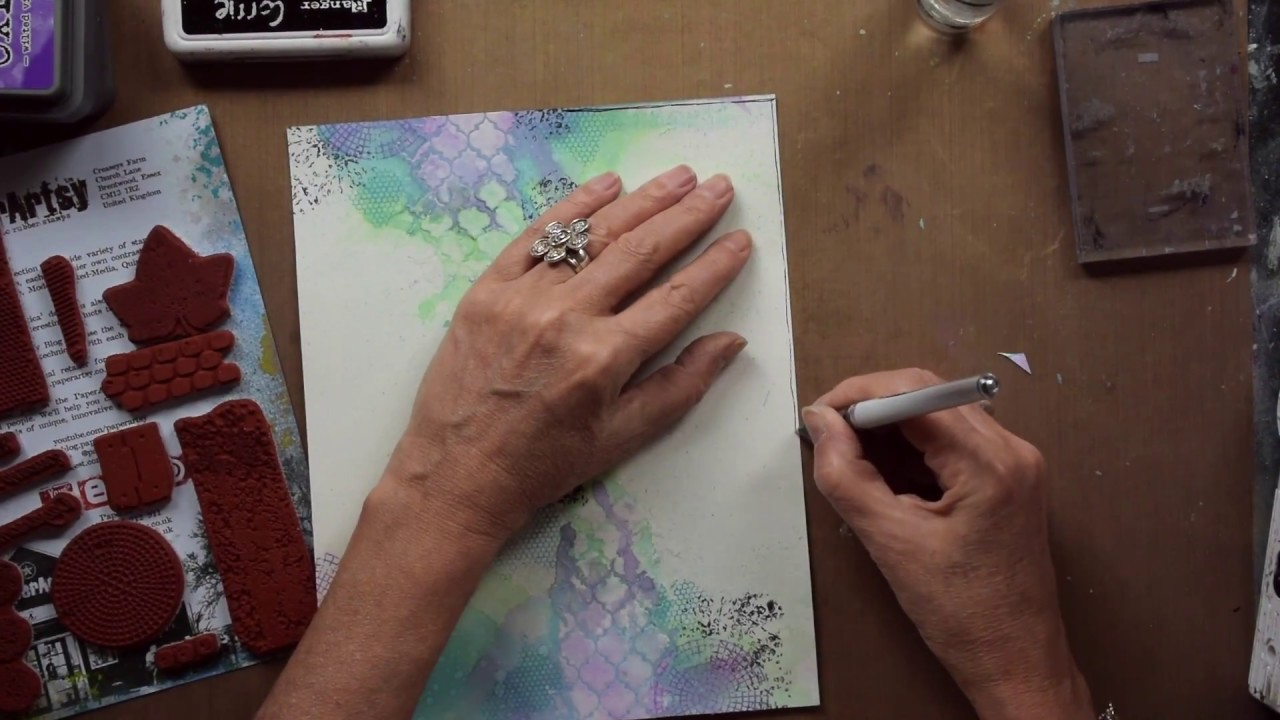 Hobbycompleet De Duif.De Duif Oxide Inks