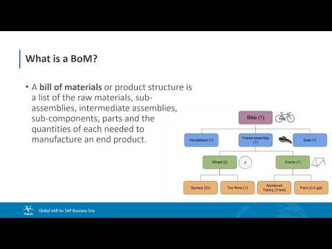 What is BoM and how to create one? - YouTube