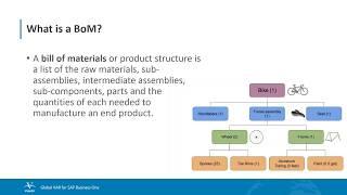 BoM nedir ve nasıl oluşturmak için?