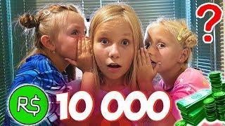 На ЧТО Я ГОТОВА РАДИ 10 000 РОБОКСОВ / Челлендж с Николь, Алиса и Стефа