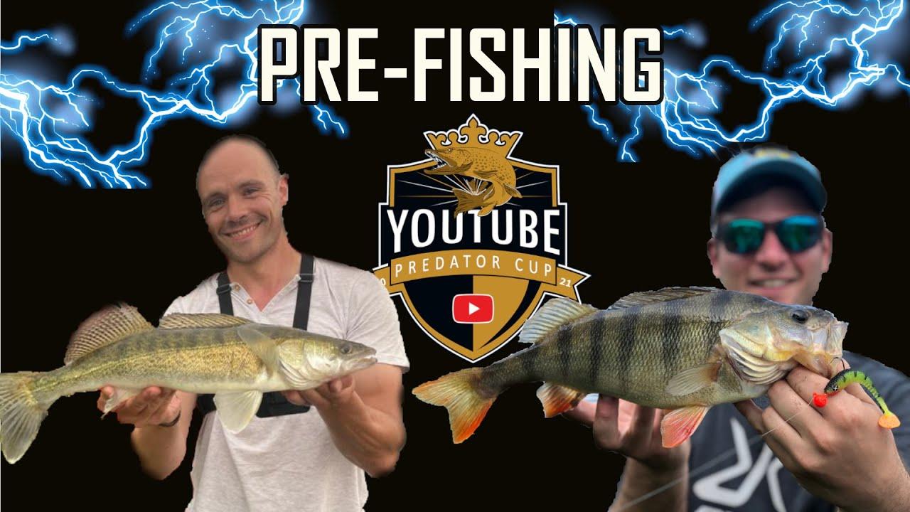 Je défie le plus gros Youtubeur CARNA !! Fishtique   Pêche du sandre et de la perche