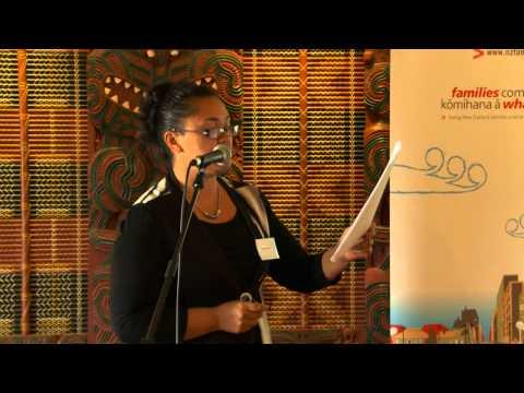 Enid Ratahi-Pryor speaks at He Ara Whakamua Whakatane