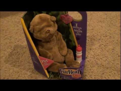 Furreal Friends Newborns Fur Real Puppy Chipmunk Kitt