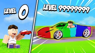 GETTING MAX LEVEL CAR SHOP in Roblox Car Tycoon!