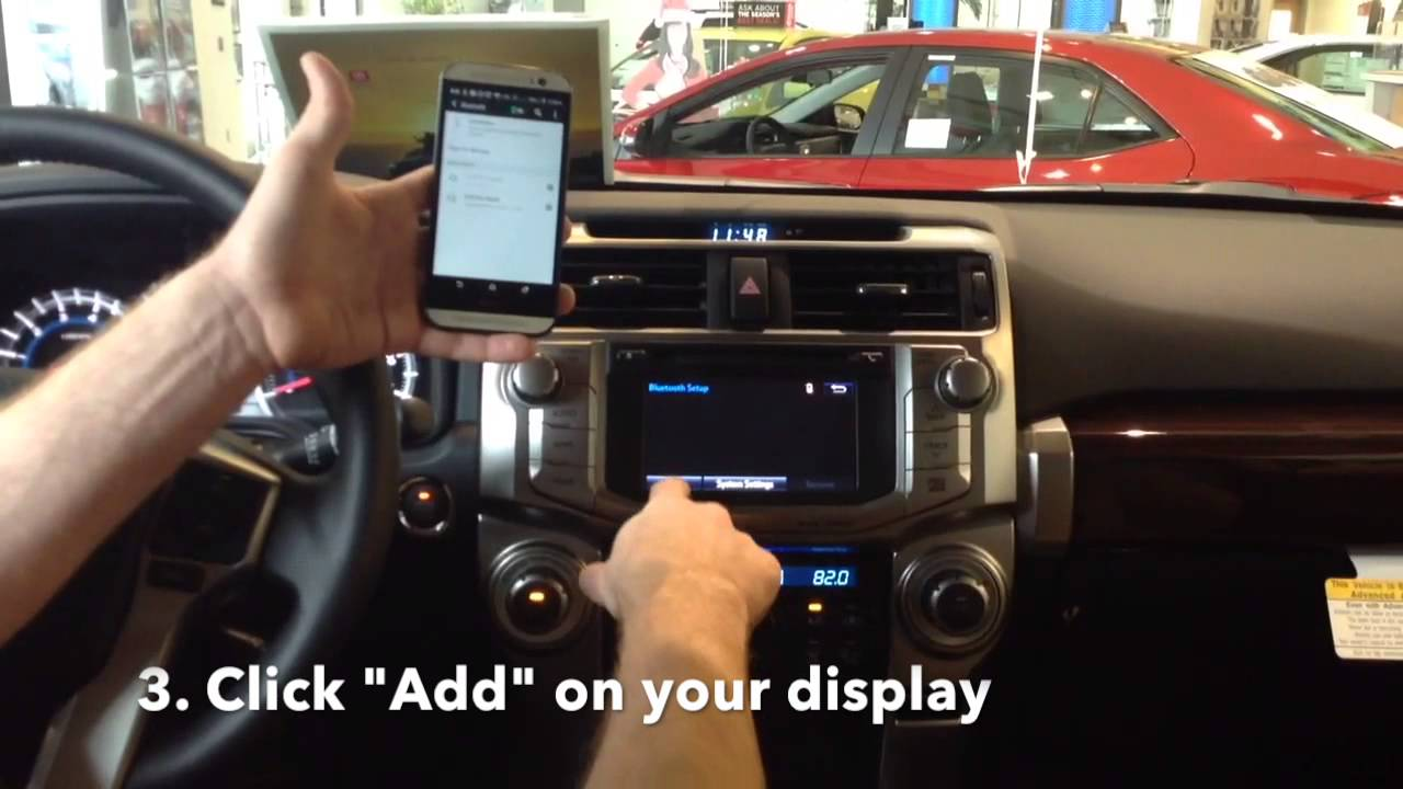 Crown Toyota Of Lawrence, KS : How To Set Up Your Bluetooth