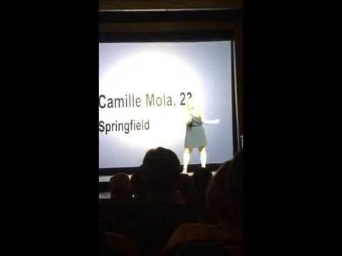 Vocalist 2015 Winner - Camille Mola