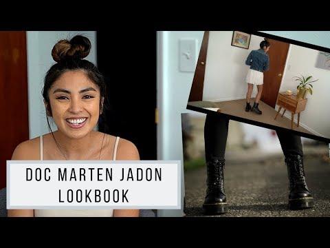 Doc Marten Jadon Lookbook