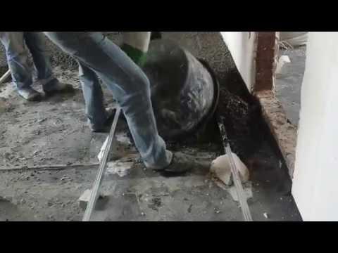Легкий бетон ПСФБ (теплая стяжка пола в коттедже)