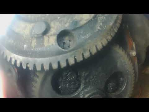 сборка двигателя ямз 238 часть 1
