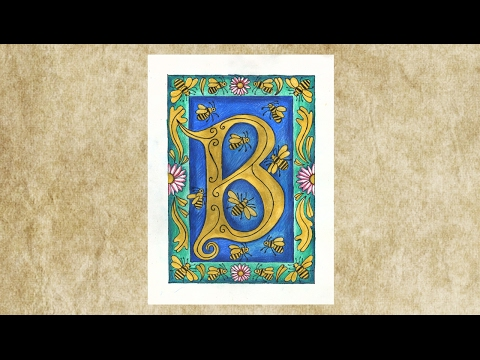 Illuminated Letters - Project #214 - YouTube on