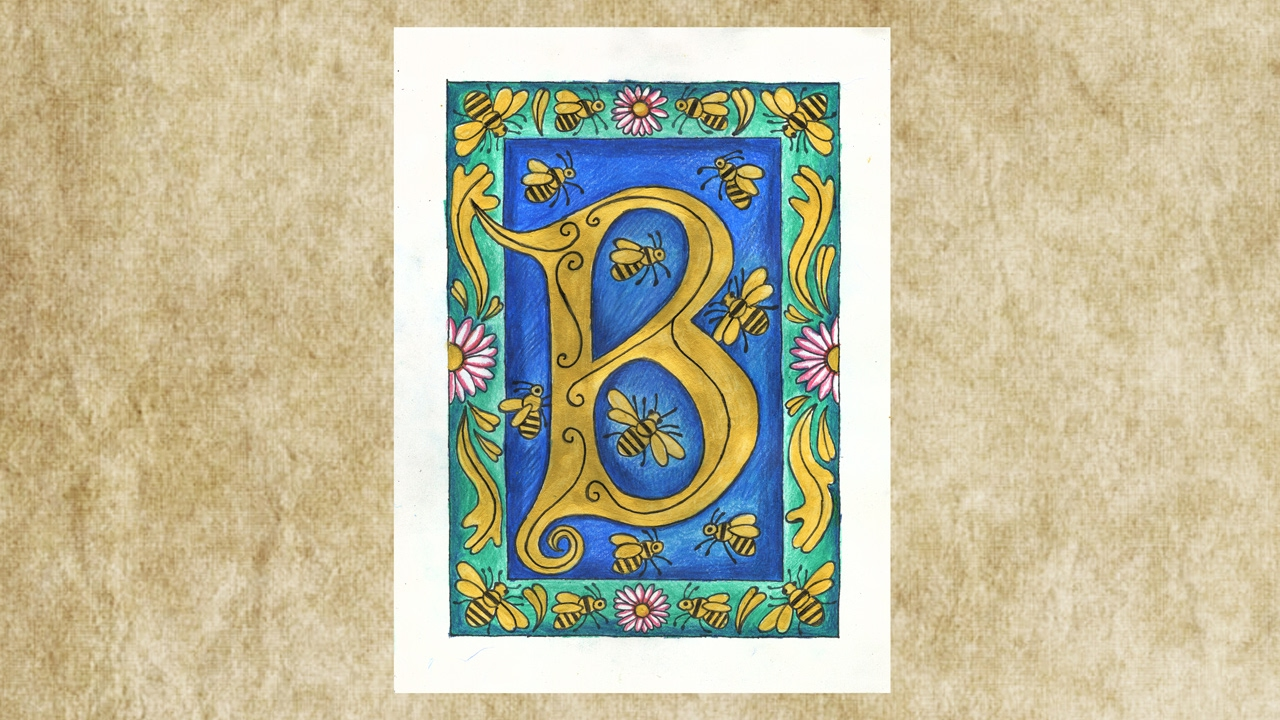 Illuminated Letters Project 214