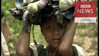 安全求めてジャングル進む ミャンマー・ロヒンギャ難民 ロヒンギャ 検索動画 26