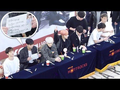 아이콘 iKON : I'm OK 팬사인회 쉬는시간 직후  Fansign Event : 편집직캠 Edited fancam : 영등포 타임스퀘어