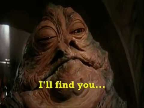 YOUTUBE'S STUPID COMMENTS - Jake, Amir and Jabba The Hutt ... Jabba The Hutt Choked