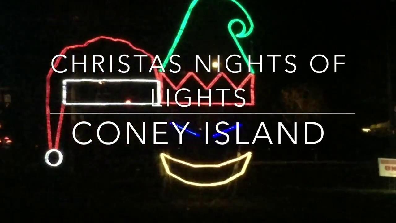 Coney Island Christmas.Christmas Nights Of Lights At Coney Island
