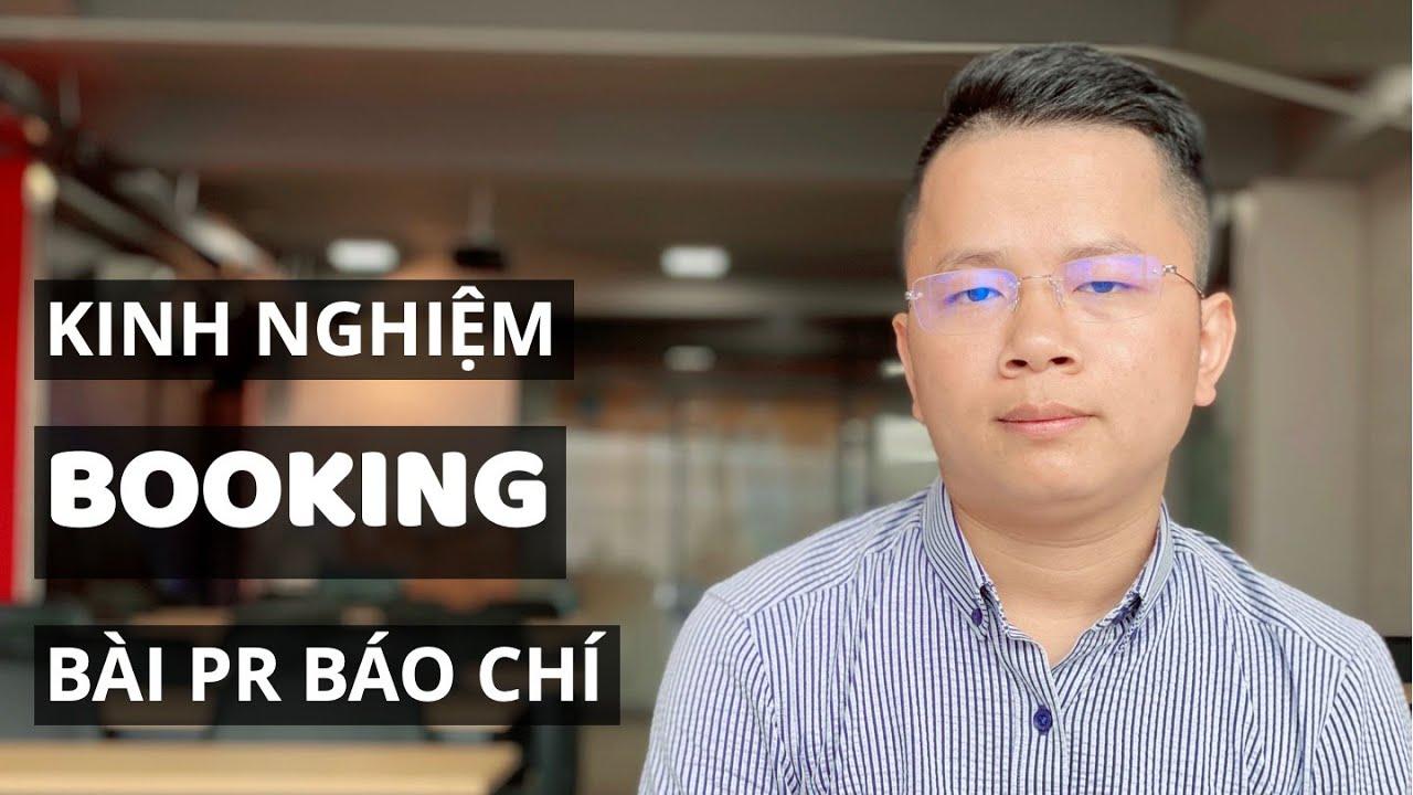 Kinh nghiệm booking bài PR báo chí cho SME | Marketing | Thầy Giáo Mưa