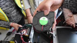 Everycom X9 projector disassemble video