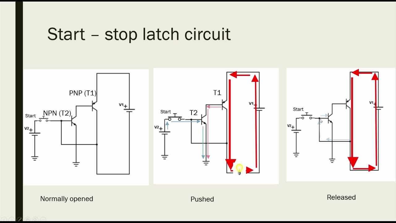 hight resolution of latch circuit