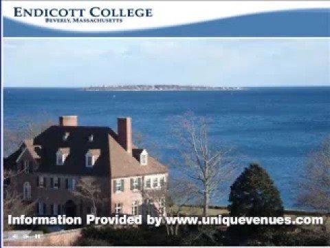 Business Meetings at Endicott College in Beverly, Massachusetts