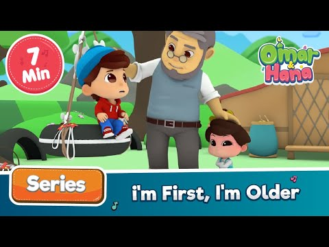 Omar & Hana | I'm First, I'm Older | Islamic Cartoons