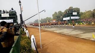 NCC RDC Rajpath 2018 parade contingent SD, Republic day,