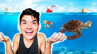 How To Fix The TURTLE + PLASTIC STRAW Problem!