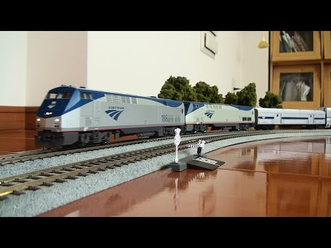 【HO scale】 Amtrak Superliner with Sounds