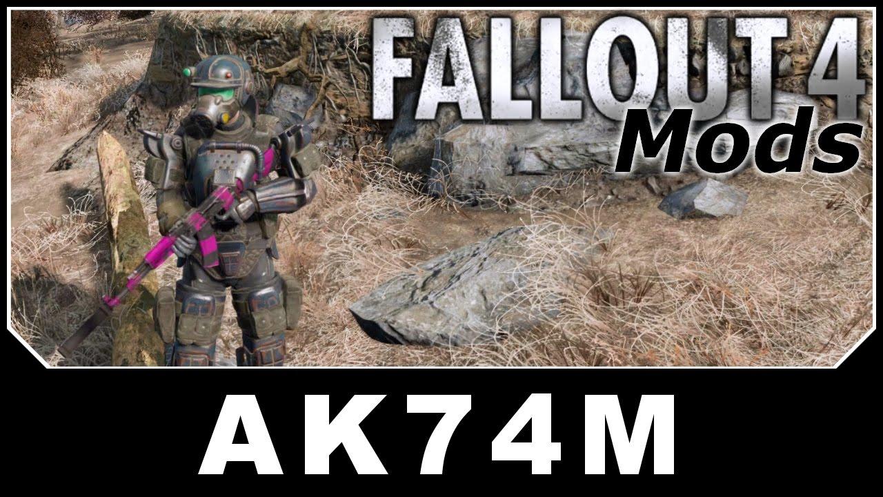 Download Fallout 4 Mods - AK74M - Assault Rifle