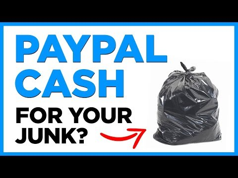 How To Trade Your Junk For PayPal Cash Overnight