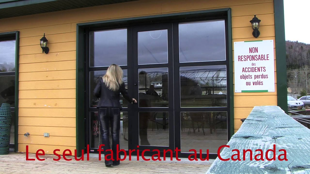 porte de garage pi ton vitr e youtube. Black Bedroom Furniture Sets. Home Design Ideas