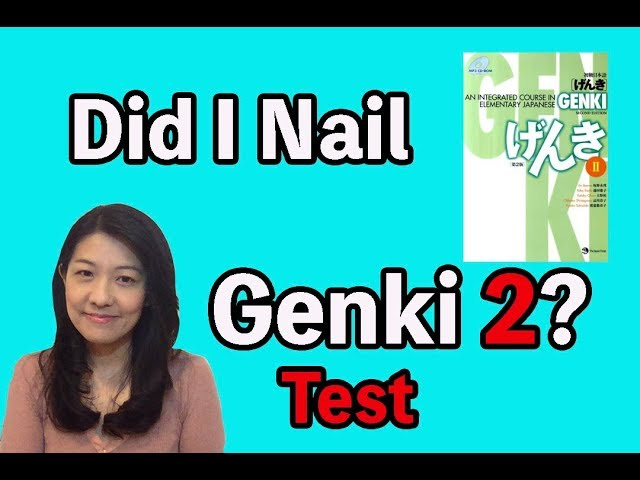 Test for Intermediate Japanese learners!