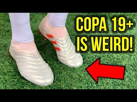 KANGAROO LEATHER & LACELESS! - ADIDAS COPA 19+ (DYBALA BOOTS) REVIEW + ON FEET