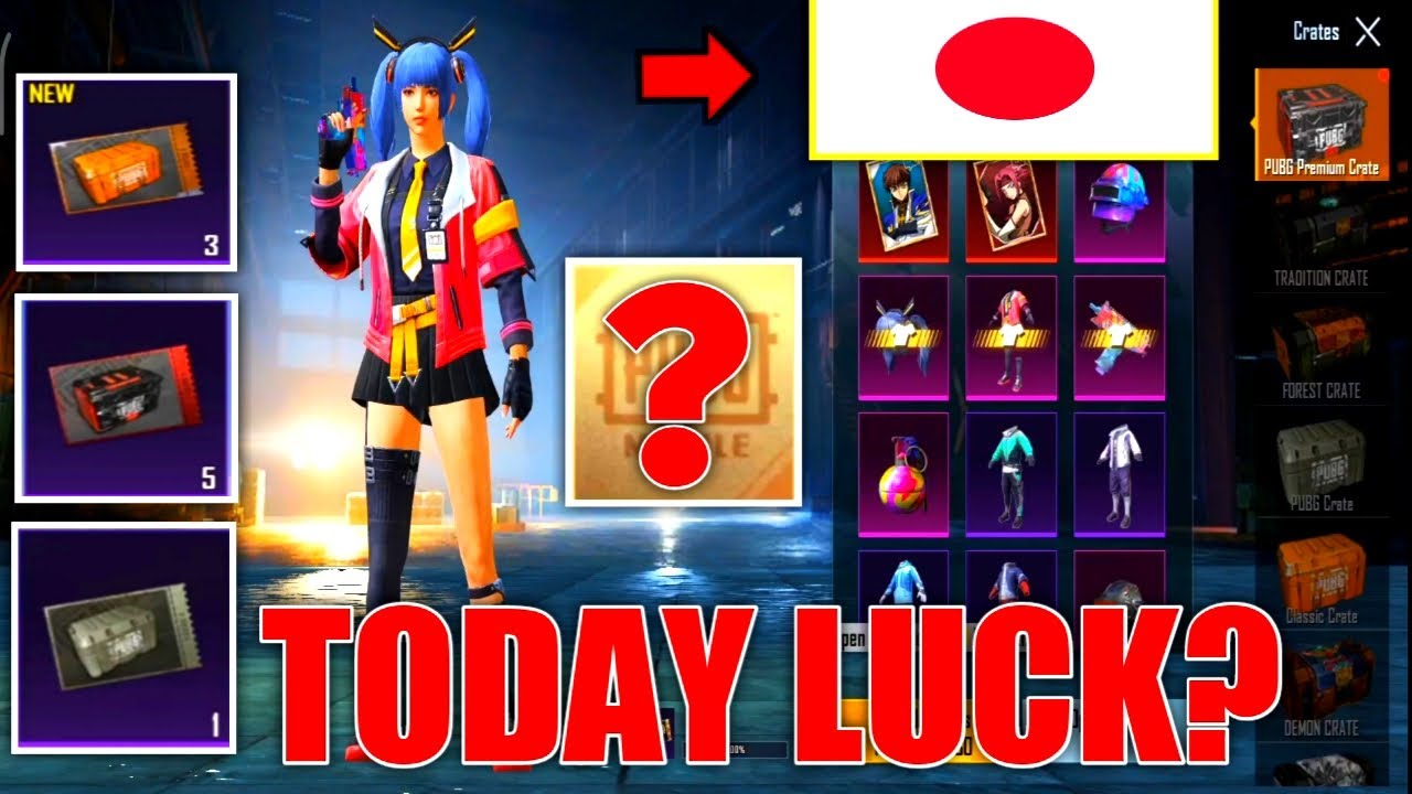 OPENING CRATE TODAY !!! LUCK ALWAYS WITH ME? | PUBG MOBILE KOREA