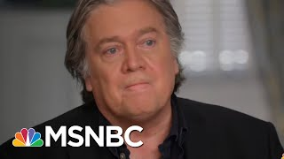 Steve Bannon Reckons With 'Times Up' Movement: 'Powerful Political Force' | The Last Word | MSNBC