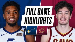 JAZZ at CAVALIERS | FULL GAME HIGHLIGHTS | January 12, 2021