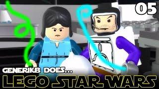 "LEGO STAR WARS The Complete Saga Ep 05 - ""Jango & Boba Fett!!!"""