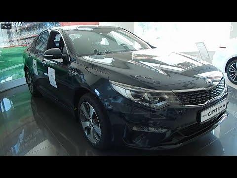 новая KIA Optima 2019 2.0 T GDI 6АТ GT экстерьер , интерьер топовый корейский D класс