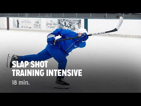 ITrain Hockey Slap Shot Training Intensive