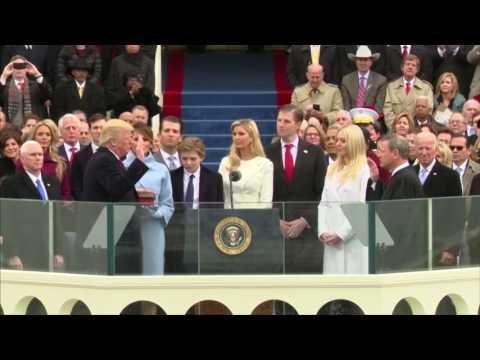 Inauguration Day: Donald Trump sworn in as 45th U.S. President