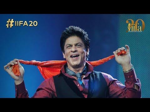 Iifa Awards 2019 Sharukh Khan Performance