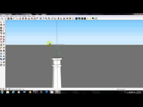 How to create a classical column in under 10 minutes using SketchUp