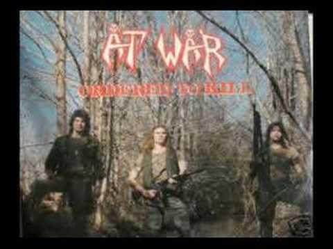 AT WAR - EAT LEAD