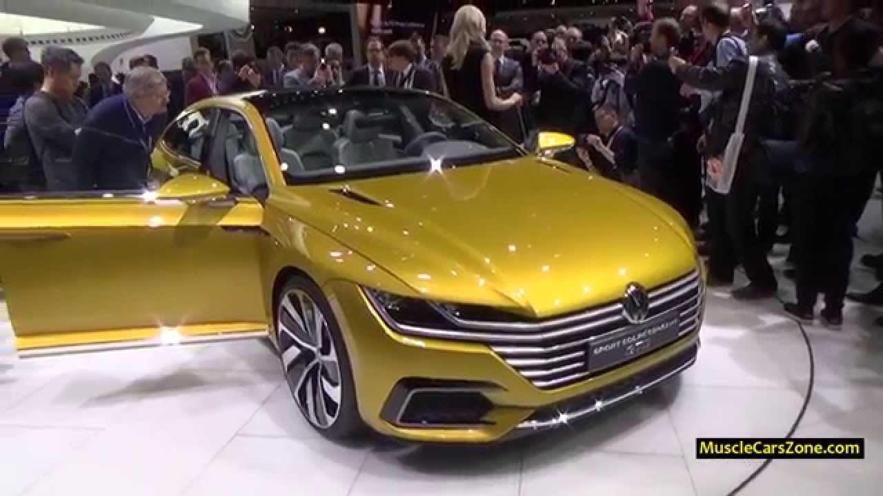 2016 vw sport cc coupe concept gte 2015 geneva motor. Black Bedroom Furniture Sets. Home Design Ideas