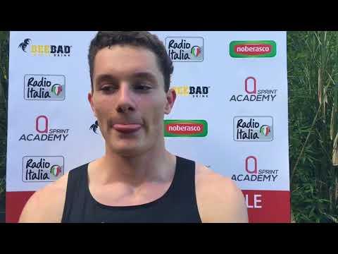 Filippo Tortu (10.03) a un passo dal record italiano di Mennea