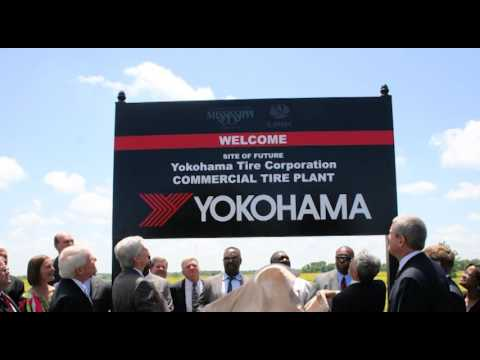 Yokohama Miss. plant grand opening