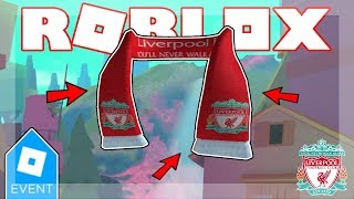 [LIVERPOOL FC EVENT ENDED 2019!] Liverpool FC Scarf Instant Give or Promocodes?! | Roblox